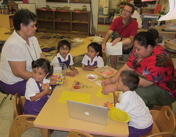 Real-world experience with children helps CHL and its partners develop the best educational programs.