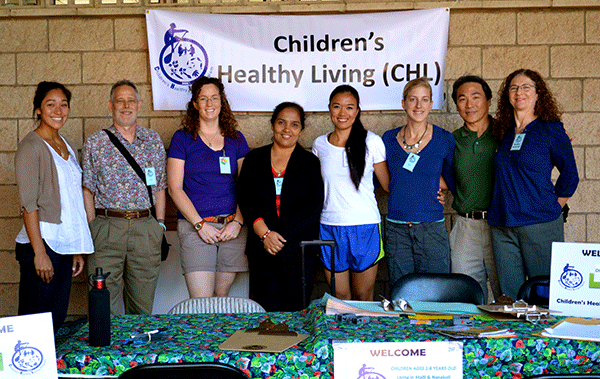 The Hawai'i CHL recruitment and measurement team.
