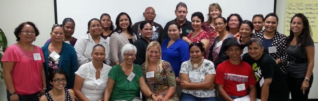 Participants at the CNMI Role Model Workshop.
