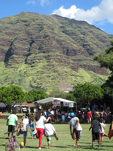 ActiveHI gets families up and moving at their 2nd Annual Family Fun Fest in Makaha.